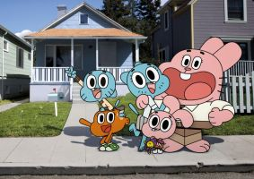 The Amazing World of Gumball wallpaper by kenpuropoder