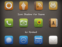 Icon Shadow for Suave by Hyokad