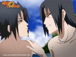 sasuke and itachi by annria2002