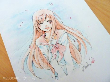 Flowing Pastel by Melo-Cake