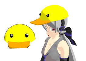 MMD-Ducky hat DL by Shioku-990