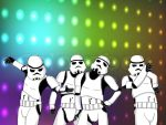 Stormtrooper dance party!! by yurilove834