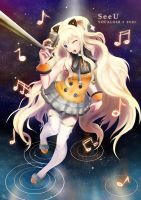 +SeeU+ Vocaloid 3 by ikarisu