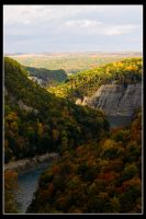 Letchworth State Park III by Camasii