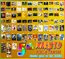 Naruto 5th Fan Art Contest by naruto
