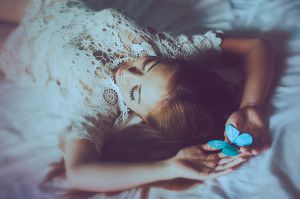 The Blue Butterfly II by EmiNguyen