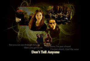 Don't Tell Anyone Wallpaper by mewpearl