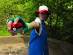 Ash Ketchum - Let's battle by xAoiWoods
