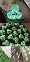 Shamrock Cupcakes by Demi-Plum