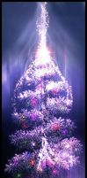 christmas tree by F-l-a-g