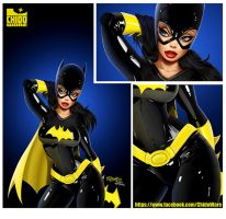 Batgirl Print LA MOLE DF by renecordova