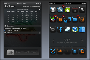 iFlat Theme Screenshot by DerNosada