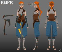 Keipr Online: Female Archetype by TroyGalluzzi