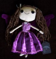 Button-Eyed Dilly Dally Faery by littlemoonoriginals