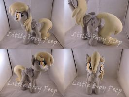 MLP Derpy Plush by Little-Broy-Peep