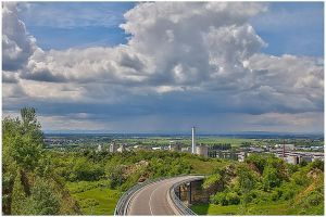 View over the Rhine valley by bibamus-pd