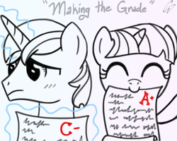 Making the Grade by CosmicWaltz