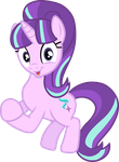 Starlight Glimmer (clapping vector) by davidsfire