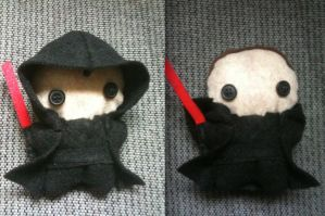 Sith Lord Plushie by CheesyHipster