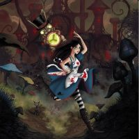 alice running into madness by roboba