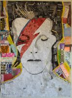David Bowie by angelo-extraball