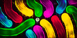 [Smudge] Abstract Neon Colors by JLEditions