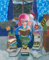 Emily Brooksworth (Night Reading) by Sketchman147