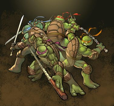 TMNT by greatlp by TeoGonzalezColors