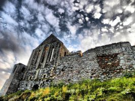 Peel Castle Cathedral by basement-ghost