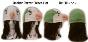 Quaker Parrot Hat by LiliNeko