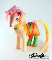 Up and Rockin' Jem Custom MLP by thatg33kgirl