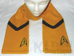 Star Trek - Command Scarf by AKawaiiBoutique