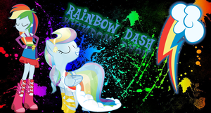 Rainbow Dash Wallpaper by nhanminhle750