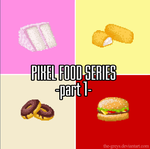 Merch - Pixel Food Series 01 by The-Greys
