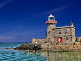 Howth Lighthouse by pixllmania