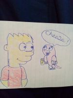 Bart Simpson and Rufus from kp request by aliciamartin851