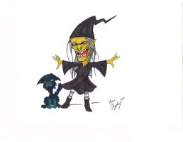 Mini Monsters 010 - Witch by Shapshizzle