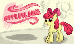 Applebloom by malamol