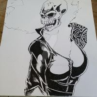 Ghost Rider by OcAmee