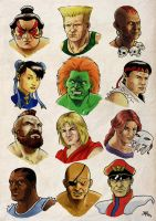 Street Fighter 2 Tribute by flaviogatti