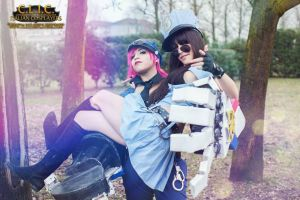 Officer Vi Cosplay League of Legends Caitlyn by AxelTakahashiVIII