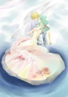 Haruka and Michiru-2 by Sleepy-Moon