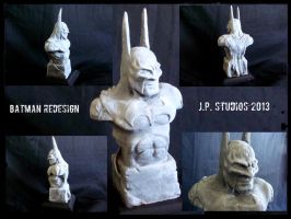 Batman bust by jamesplasencia
