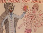 Real Vampires Don't Sparkle! by DrKaleidoscope