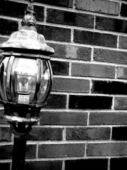 lonely lamp post by emilyhabig