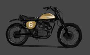 Yellow Scrambler by Menkoholic