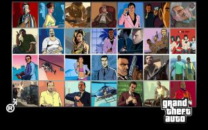 Grand Theft Auto Wallpaper by Raptomex