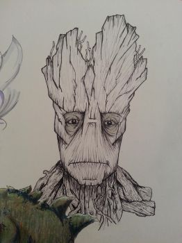 I AM GROOT by ThemasterD