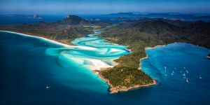 Above Hill Inlet by Questavia