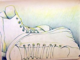 Still life converse by Dre0083